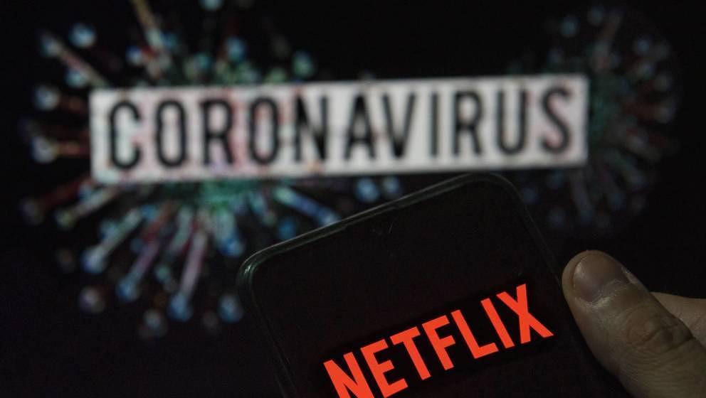 Sind die Aktien von Netflix gestiegen, da mehr Menschen in der Coronakrise auf Streamingdienste zurückgreifen?