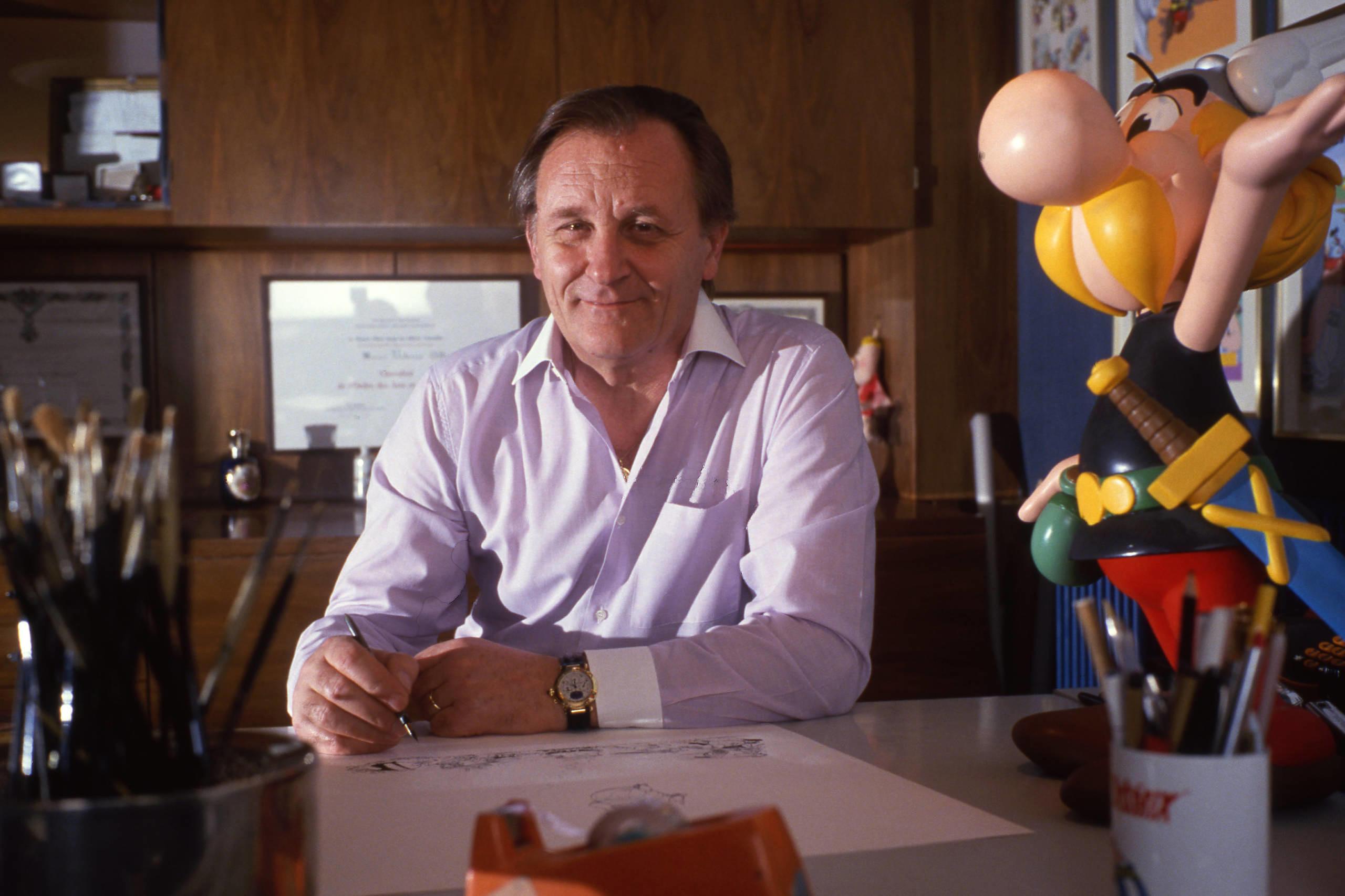Asterix-Erfinder und Zeichner Albert Uderzo ist im Alter von 92 Jahren gestorben