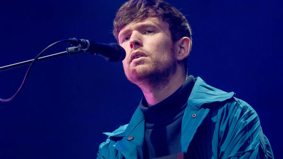 GOTHENBURG, SWEDEN - AUGUST 08: James Blake performs at Way out West on August 08, 2019 in Gothenburg, Sweden. (Photo by Juli