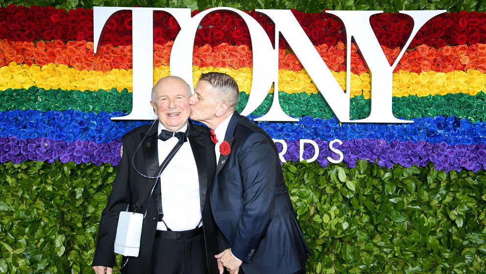 Terrence McNally und sein Ehemann Tom Kirdahy bei den Tony Awards am 9. Juni 2019 in New York.