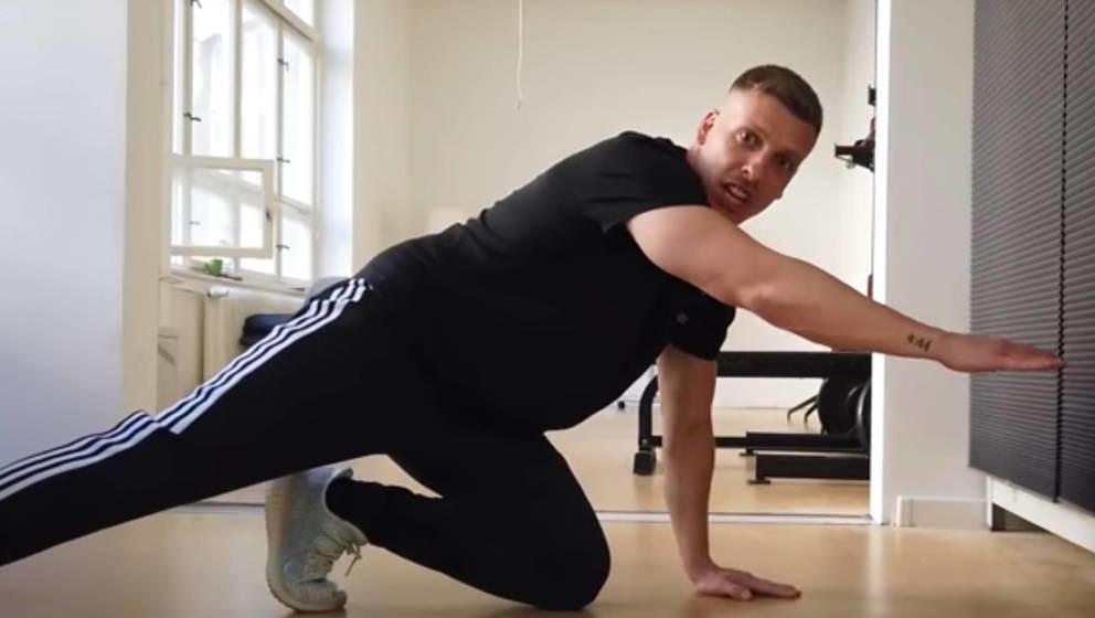 Felix Lobrecht hat jetzt einen Fitness-YouTube-Channel.