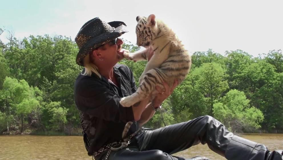 """Ganz harmloser Typ, oder? Joe Exotic in der neuen Netflix-Doku """"Tiger King"""""""