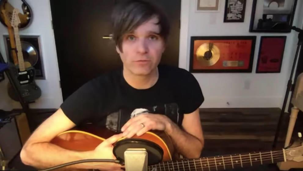 Ben Gibbard im Corona-Livestream aus seinem Home-Studio.