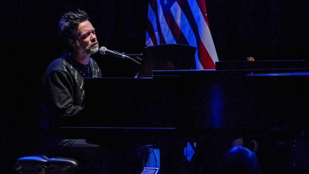 NEW YORK, NY - JANUARY 29:  Rufus Wainwright performs onstage during The People's State Of The Union at Town Hall on January