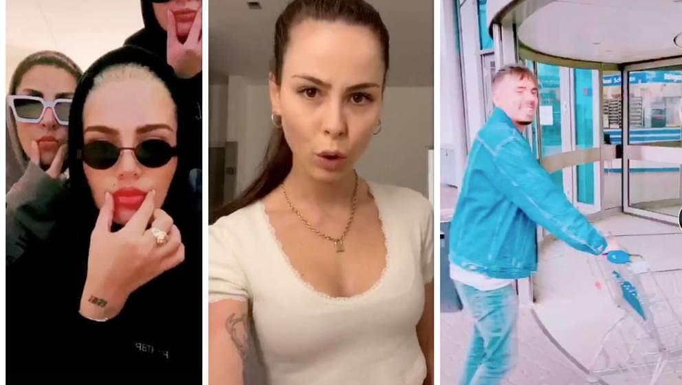 Auf ihren TikTok-Profilen sammeln deutsche Stars tausende von Followern