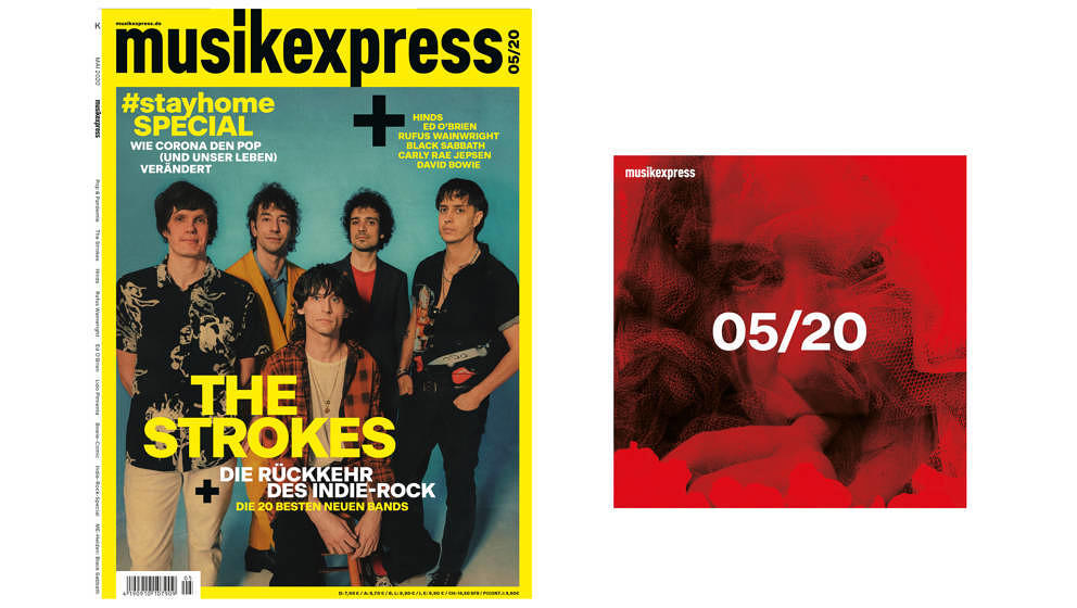 So sieht die Mai-Ausgabe des Musikexpress aus