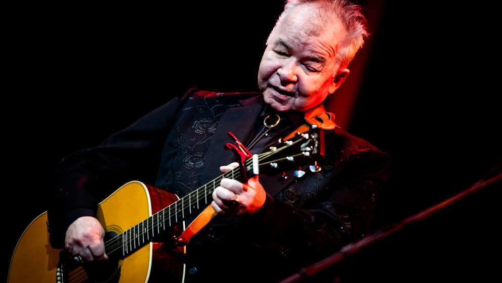 HOLLYWOOD, CALIFORNIA - OCTOBER 01: John Prine performs at John Anson Ford Amphitheatre on October 01, 2019 in Hollywood, Cal