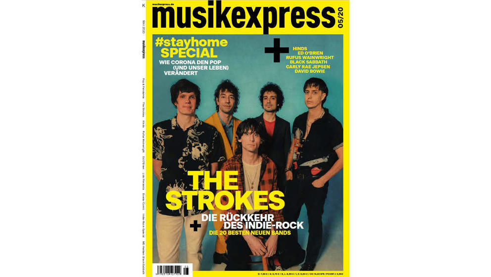 So sieht die Mai-Ausgabe des Musikexpress aus.