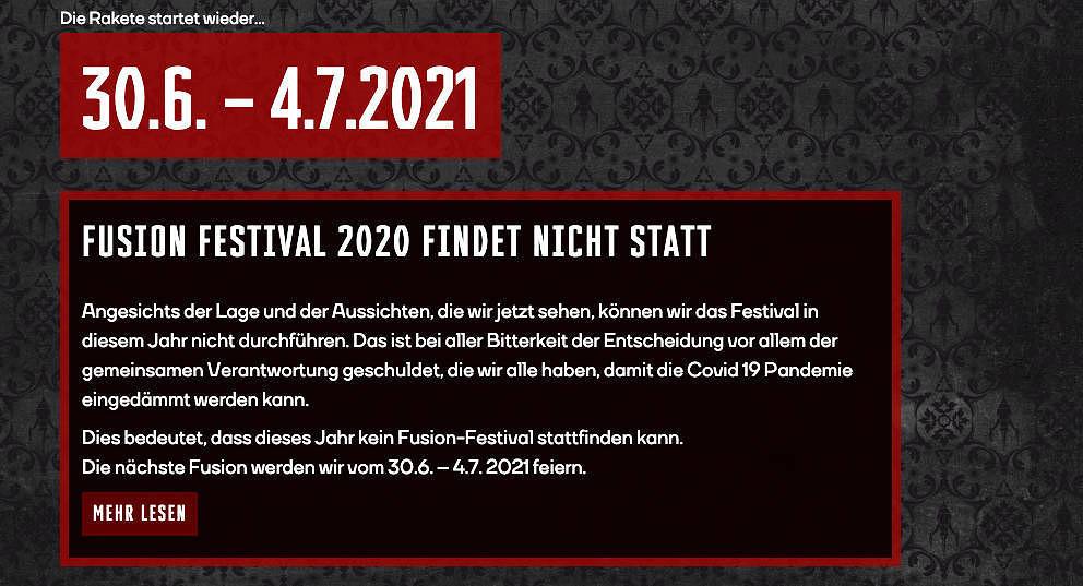 Die Fusion findet 2020 nicht statt.