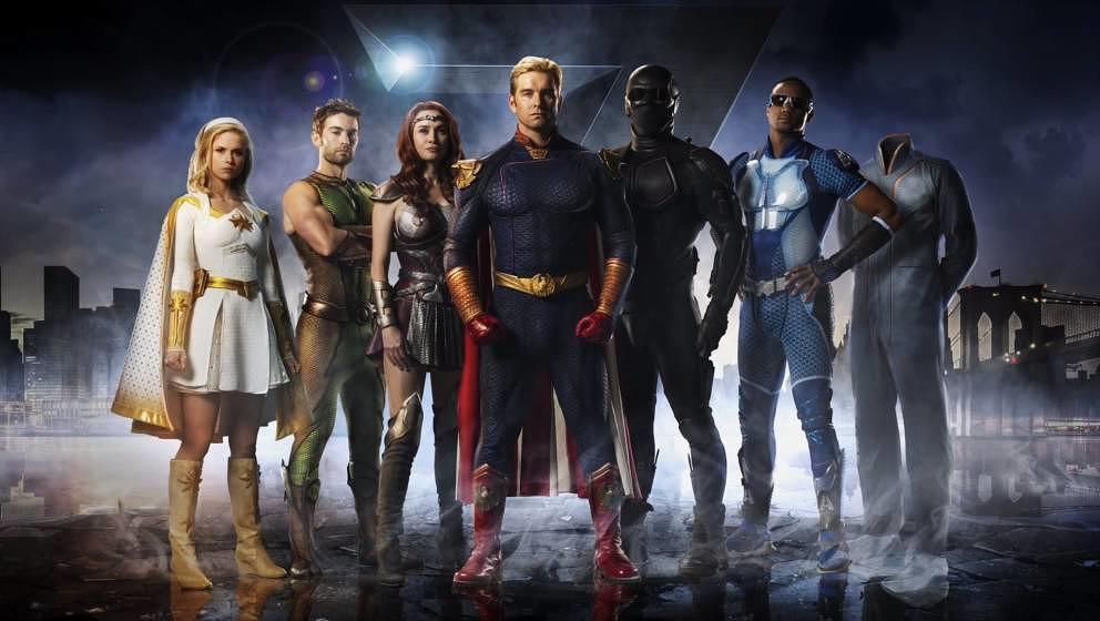 Sehen heldenhaft aus, sind es aber nicht: The Seven ist eine Truppe korrumpierter Superhelden-Widerlinge.