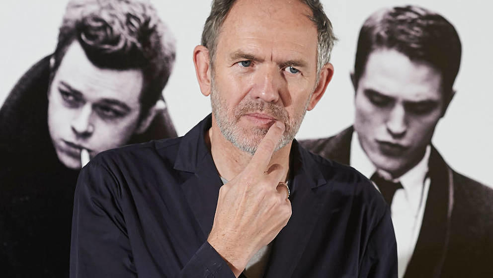 MADRID, SPAIN - NOVEMBER 11:  Director and photographer Anton Corbijn attends the 'Life' photocall at the Intercontinental Ho