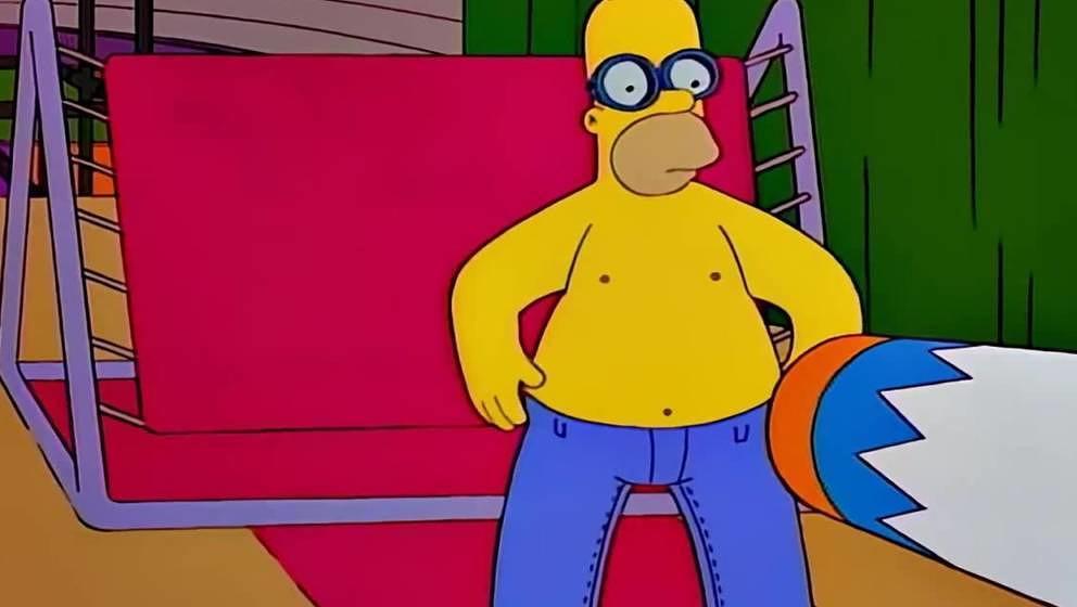 """Homer Simpson beim """"Homerpalooza"""""""