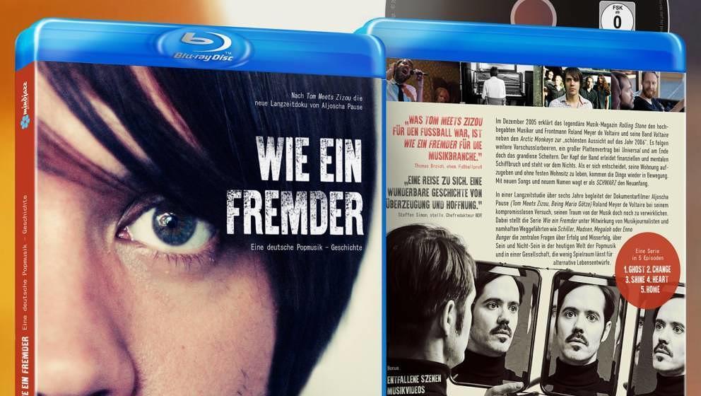 """Die fünfteilige Dokuserie """"Wie ein Fremder – eine deutsche Popmusik-Geschichte"""" erscheint am 5. Juni 2020 auf Blu-Ray"""