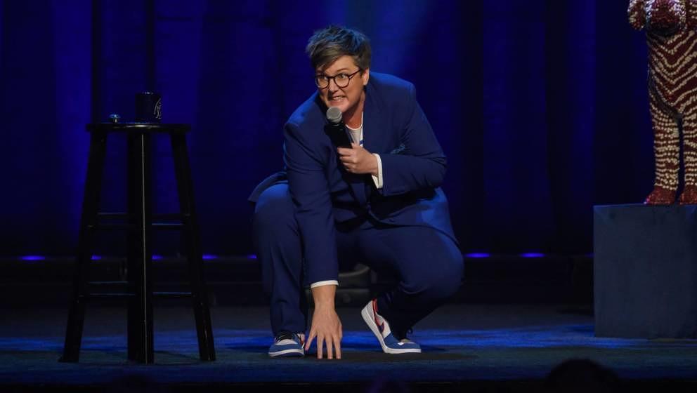 Ist Ende Mai mit ihrem neuem Comedy-Special bei Netflix am Start: Hannah Gadsby.