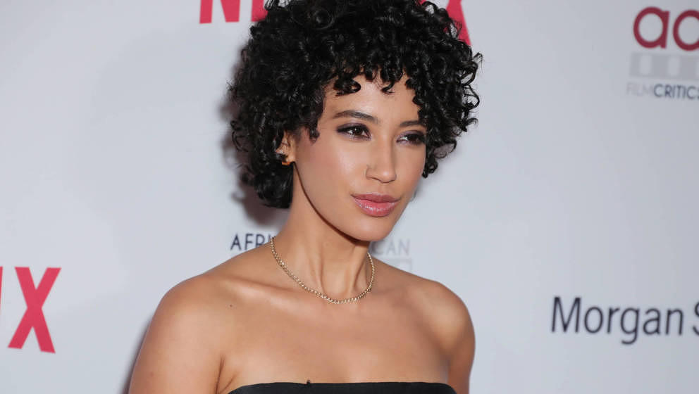 Andy Allo im Januar 2020 in Hollywood