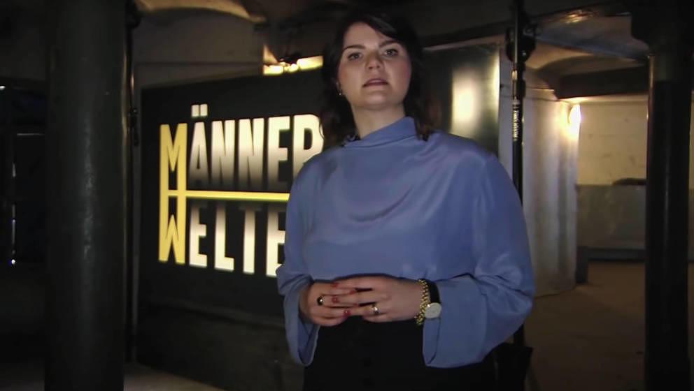 """Sophie Passmann führte zur Primetime durch die """"Männerwelten"""""""