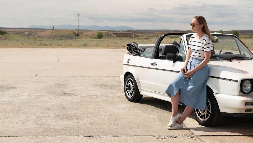 """Laura Haddock als Zoe in der spanischen Netflix-Serie """"White Lines""""."""