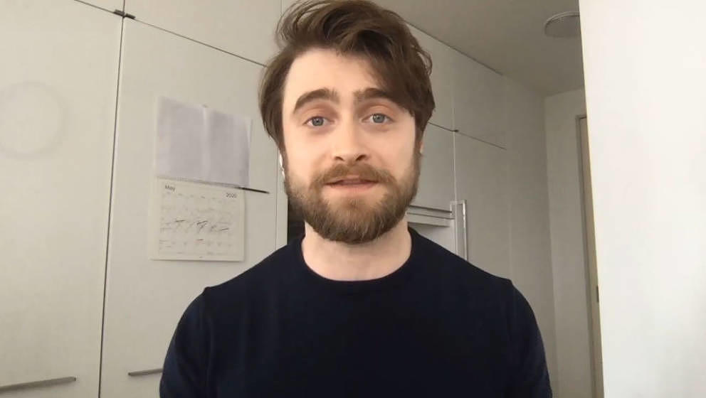 WATCH WHAT HAPPENS LIVE WITH ANDY COHEN @ HOME -- Episode 17089 -- Pictured in this screen grab: Daniel Radcliffe -- (Photo b