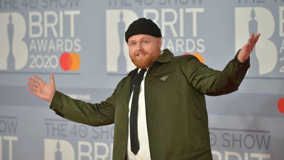 LONDON, ENGLAND - FEBRUARY 18: (EDITORIAL USE ONLY)  Tom Walker attends The BRIT Awards 2020 at The O2 Arena on February 18,