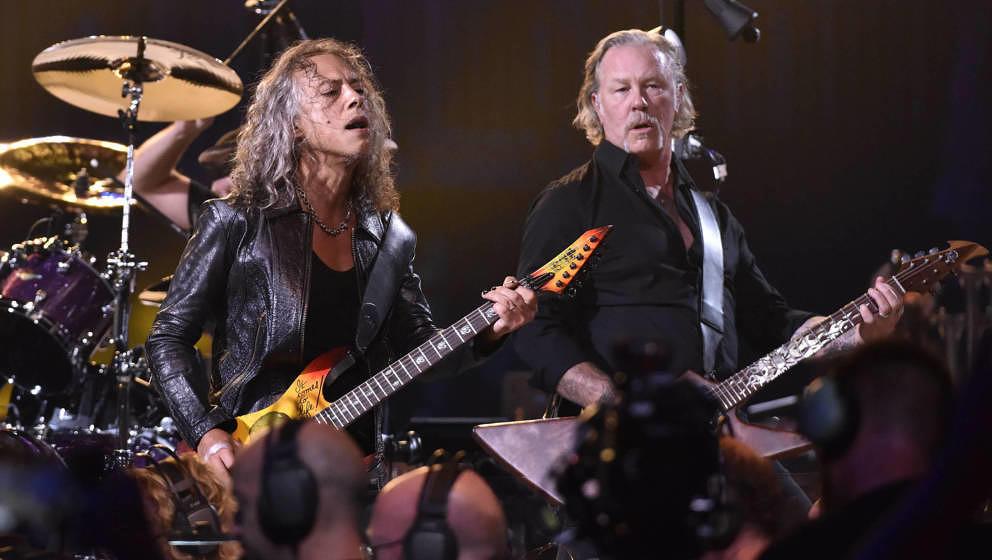 Kirk Hammett und James Hetfield live in San Francisco am 6. September 2019