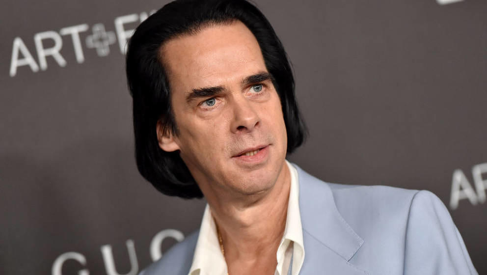 LOS ANGELES, CALIFORNIA - NOVEMBER 02: Nick Cave attends the 2019 LACMA Art + Film Gala Presented By Gucci on November 02, 20