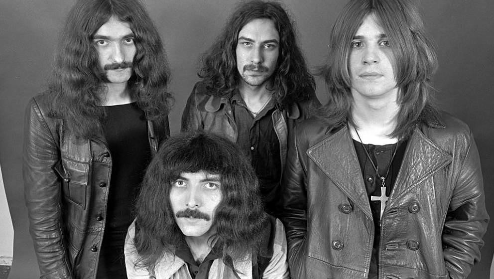 Black Sabbath, 1970: Geezer Butler, Tony Iommi, Bill Ward, Ozzy Osbourne in , (Photo by Chris Walter/WireImage)