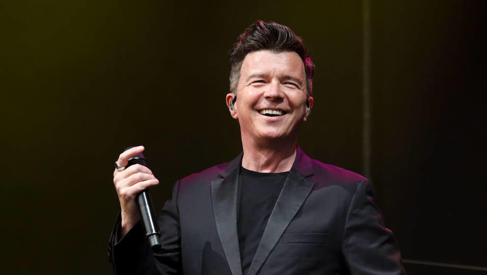 AUCKLAND, NEW ZEALAND - MARCH 07: Rick Astley performs at Villa Maria on March 07, 2020 in Auckland, New Zealand. (Photo by D