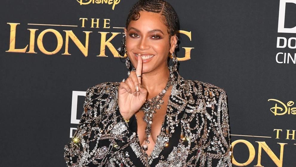 """Beyoncé hier 2019 bei der Weltpremiere von """"Der König der Löwen"""" in Hollywood."""
