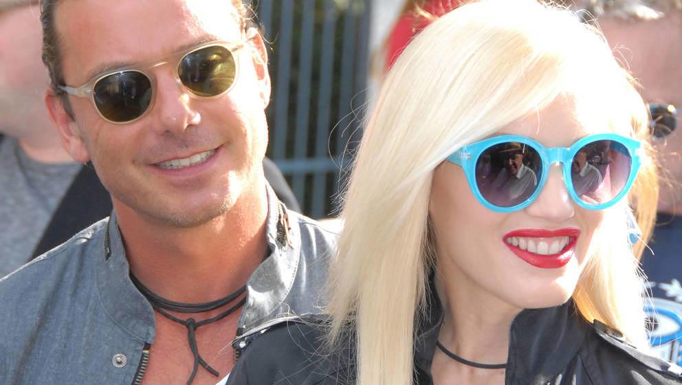 """Waren mal ein Promi-Paar: Gavin Rossdale und Gwen Stefani, hier 2013 bei der """"Monsters""""-Filmpremiere in LA"""