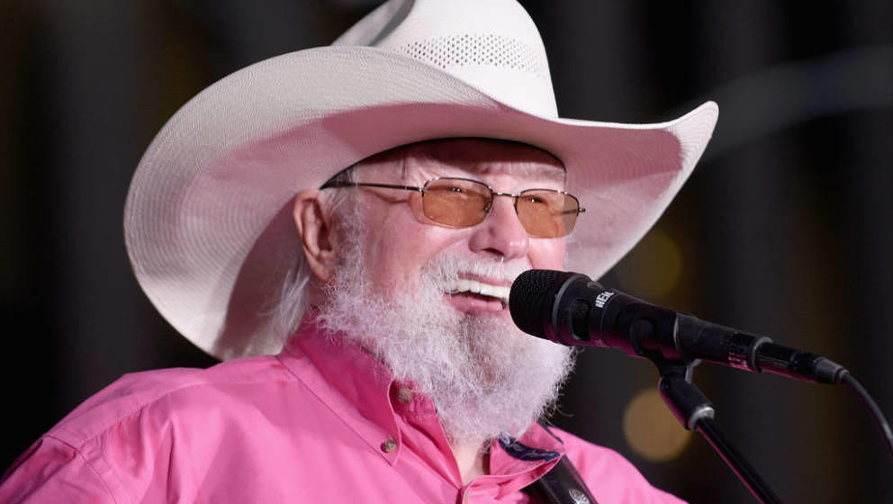 NEW YORK, NEW YORK - JUNE 21: Charlie Daniels performs during FOX News Channel's 'FOX & Friends' All-American Summer Conc