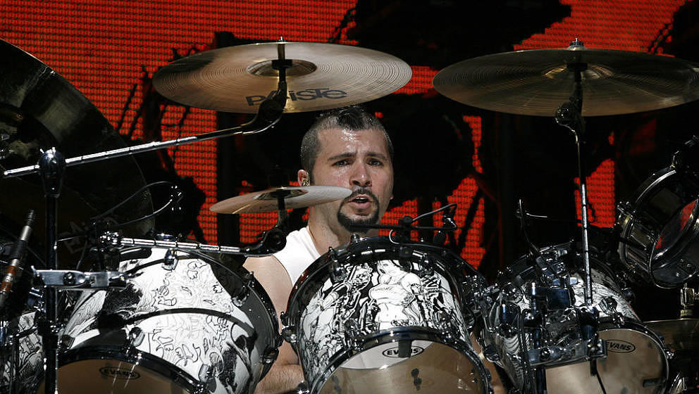 John Dolmayan of System Of A Down during Ozzfest 2006 - July 29, 2006 at Randall's Island in New York City, New York, United