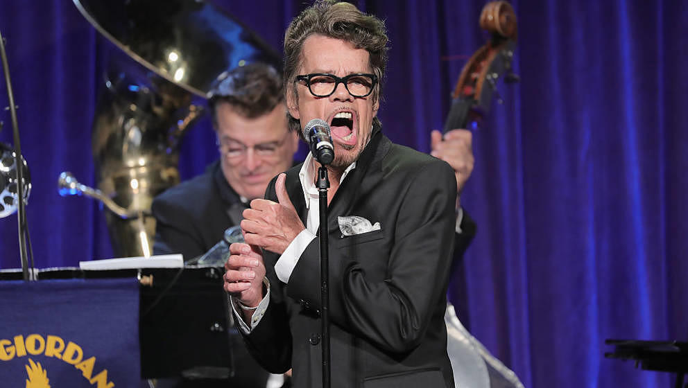NEW YORK, NY - SEPTEMBER 21:  David Johansen onstage at the Friars Club Honoring Martin Scorsese With the Entertainment Icon