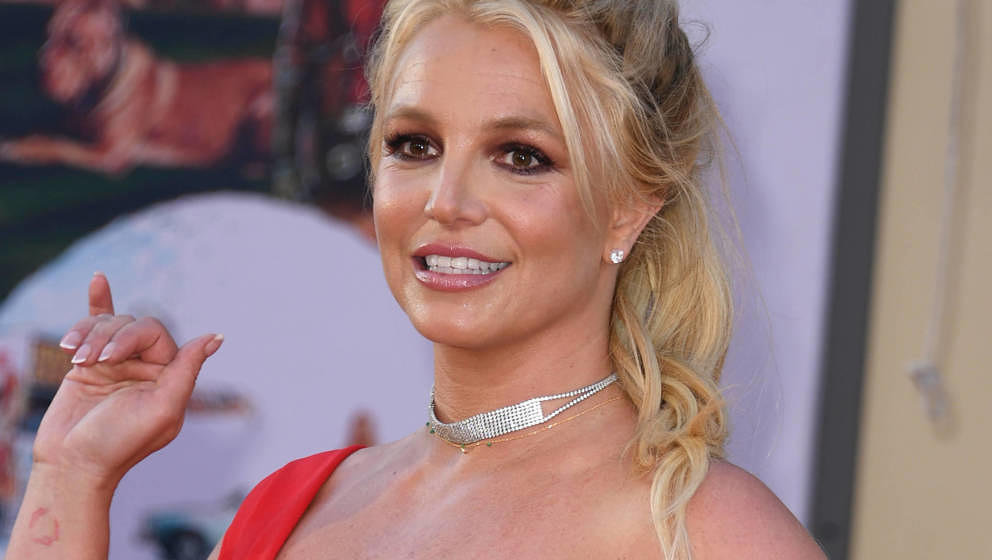 "Britney Spears hier 2019 bei der ""Once Upon a Time... in Hollywood""-Premiere in Hollywood, Kalifornien."