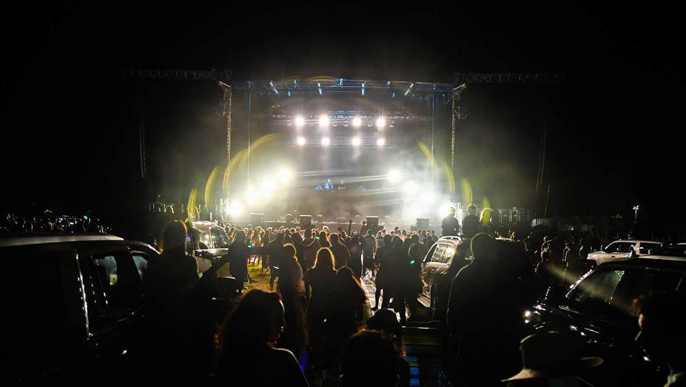 The Chainsmokers gaben  2020 ein kontrovers diskutiertes Drive-In-Konzert in New York.