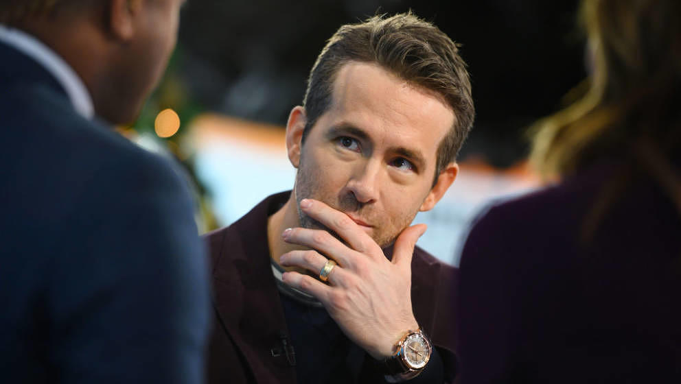 TODAY -- Pictured: Ryan Reynolds on Thursday, December 12, 2019 -- (Photo by: Nathan Congleton/NBC/NBCU Photo Bank via Getty