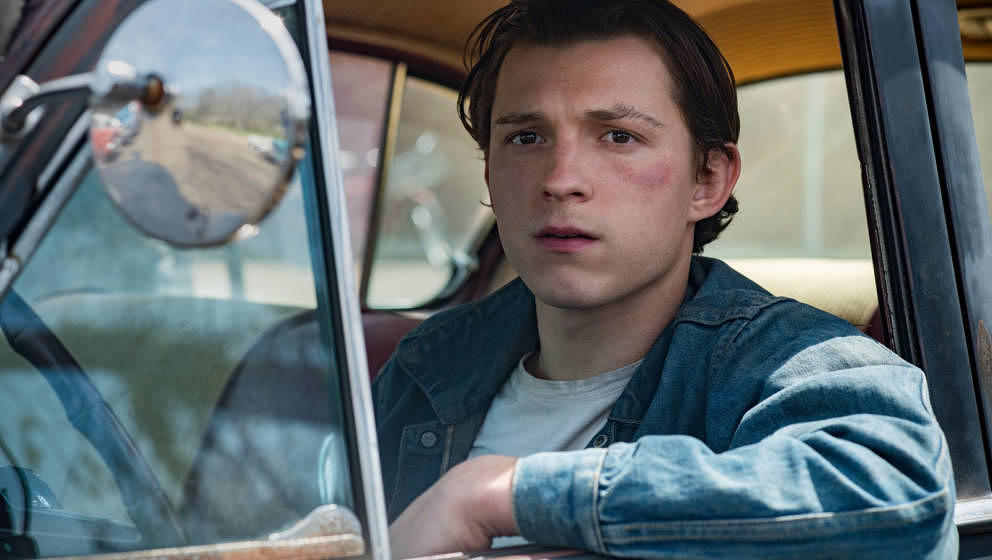 "Tom Holland ist diesmal nicht als Spiderman unterwegs: In ""The Devil All The Time"" mimt er einen gewalttätigen Jugendli"