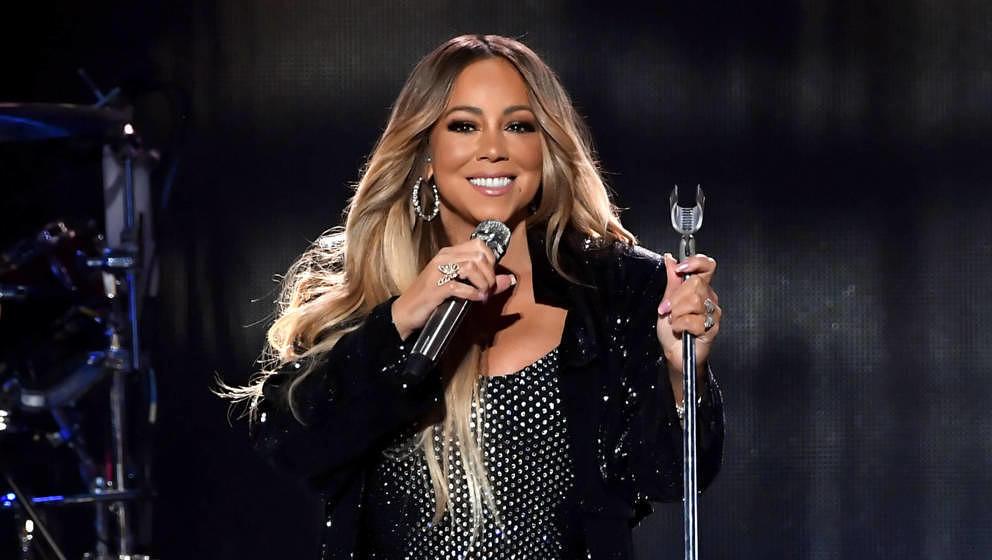 """Mariah Carey bei einem Auftritt beim """"iHeartRadio Music Festival"""" am 21. September 2018 in Las Vegas."""