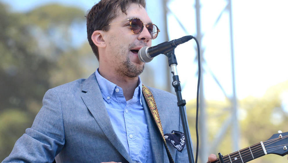 SAN FRANCISCO, CA - OCTOBER 07:  Singer Justin Townes Earle performs onstage during the Hardly Strictly Bluegrass music festi