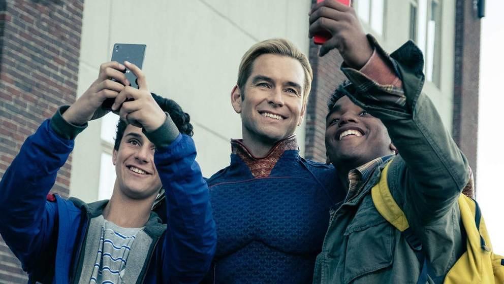 """Kommt für eine zweite Staffel zurück: die zynische Superhelden-Serie """"The Boys""""."""