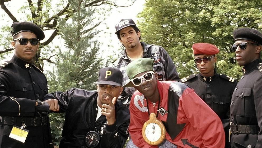 UNSPECIFIED - JANUARY 01:  Photo of PUBLIC ENEMY  (Photo by Suzie Gibbons/Redferns)