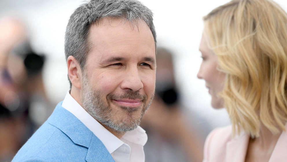 Denis Villeneuve mit Cate Blanchett in Cannes 2018