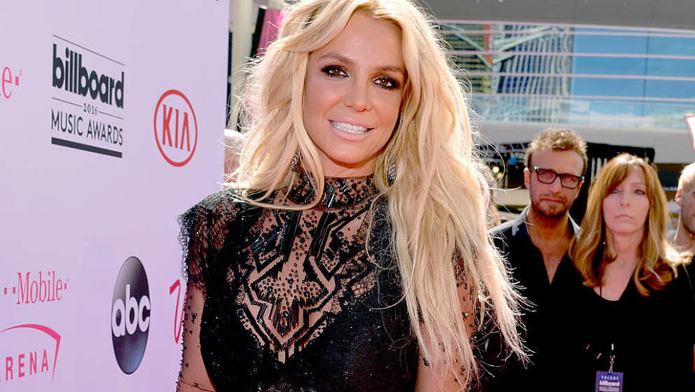 LAS VEGAS, NV - MAY 22:  Singer Britney Spears attends the 2016 Billboard Music Awards at T-Mobile Arena on May 22, 2016 in L