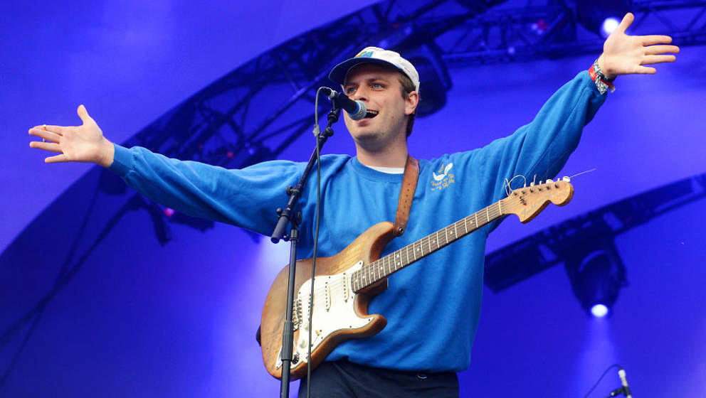 LONDON, ENGLAND - JUNE 02: Mac DeMarco performs during the All Points East Festival at Victoria Park on June 02, 2019 in Lond