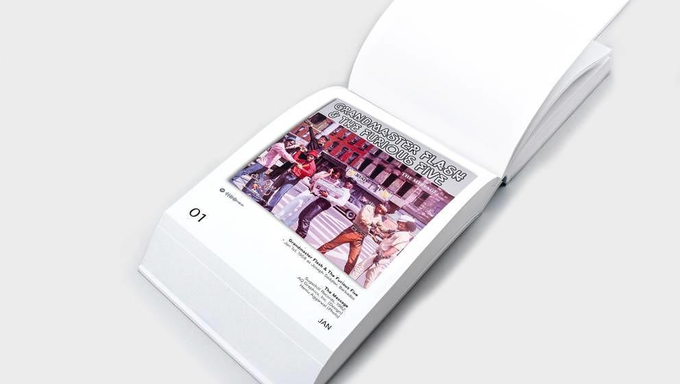 """The Art of HipHop Covers"" enthält 365 Vinyl-Cover Artworks von Anfang der 70er-Jahre bis heute"