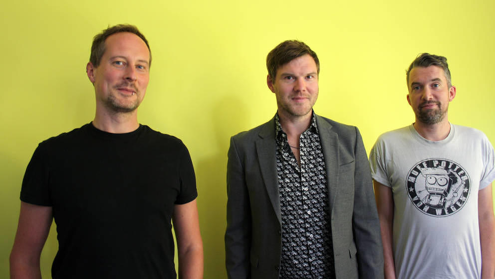 Stephan, Nagel und Fabian. Einer von ihnen war am Tag der Aufnahme sehr gut angezogen.