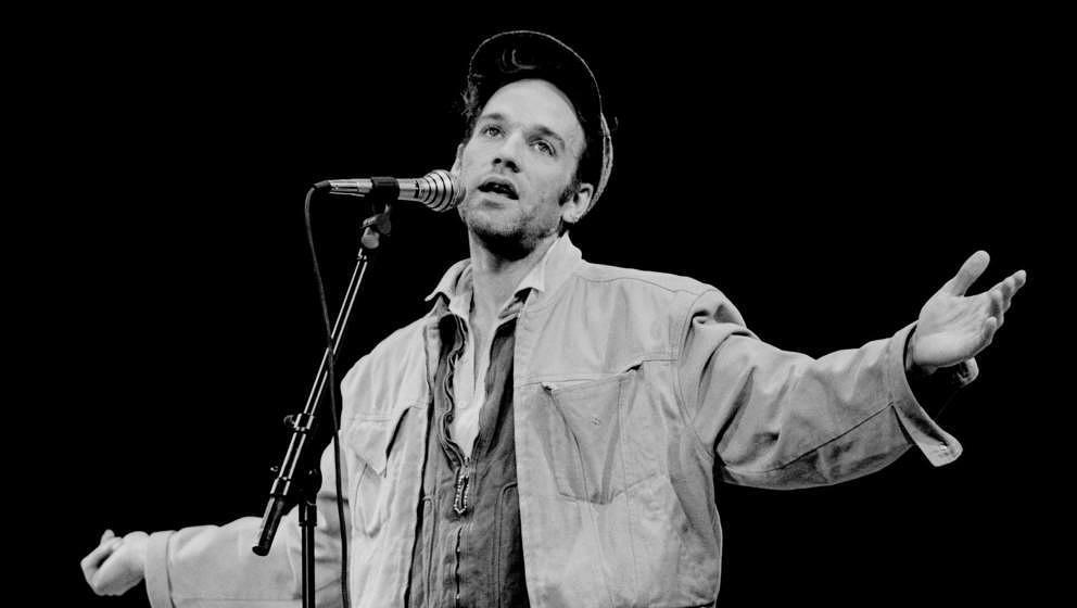 Michael Stipe von R.E.M. im Jahr 1991