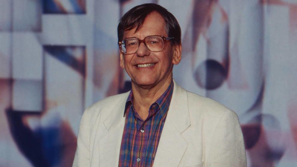 Herbert Feuerstein, deutscher Journalist, Kabarettist und Entertainer, Deutschland 1996