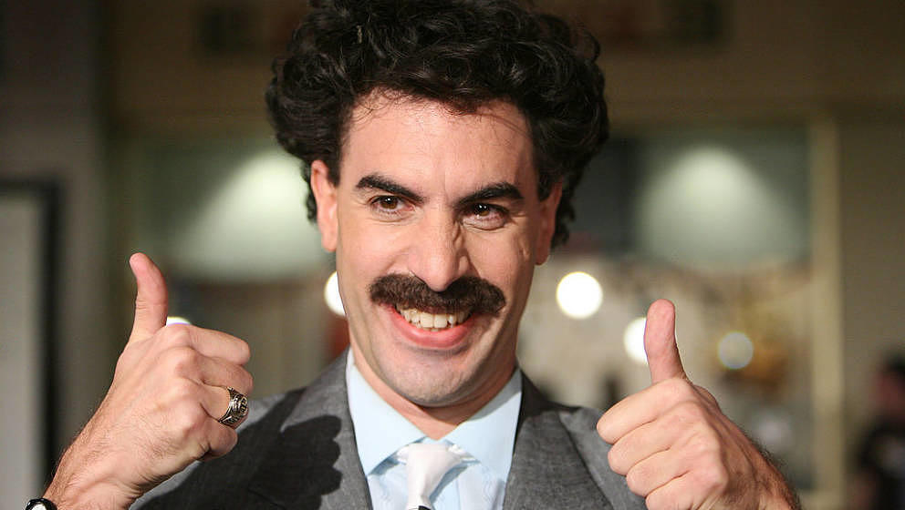 Sacha Baron Cohen as Borat during 'Borat: Cultural Learnings of America For Make Benefit Glorious Nation of Kazakhstan' Premi