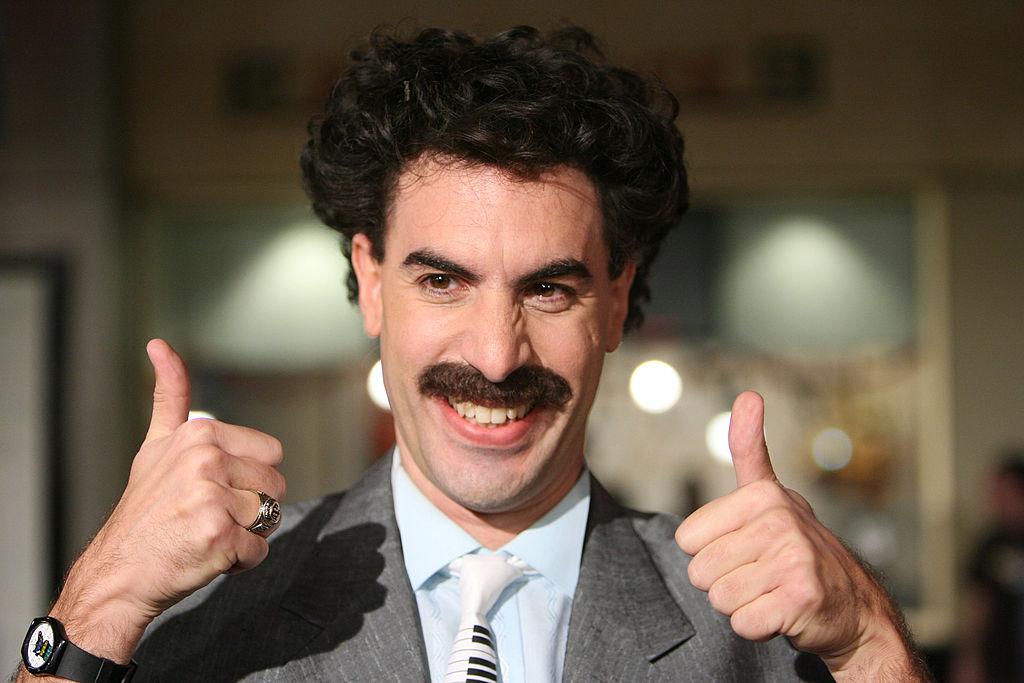 "Borat beschreibt Giuliani-Skandal als ""unschuldige sexy Begegnung"""