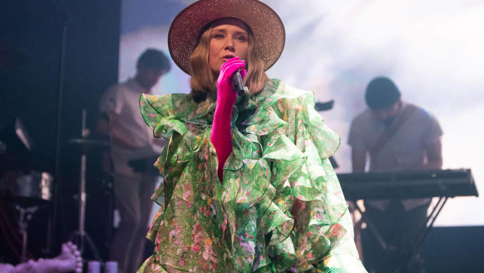 LONDON, ENGLAND - MARCH 07:  Roisin Murphy performs at the Roundhouse on day 2 of BBC Radio 6 Music Festival on March 07, 202
